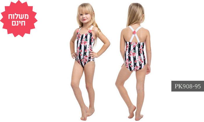 5 2 בגדי ים לילדות במגוון דגמים Gottex - משלוח חינם