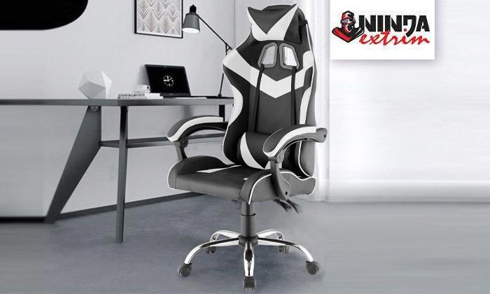 2 כיסא גיימרים אורתופדי NINJA Extrim