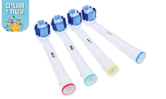 4 ראשים תואמים למברשת השיניים אורל בי Oral-B