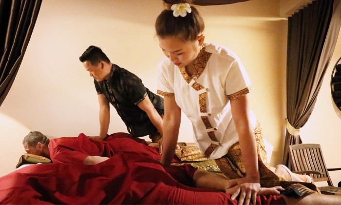 3 חבילת עיסוי תאילנדי בספא צ'אנג מאי, בוגרשוב תל אביב