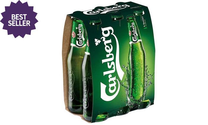 3 מארז 24 בקבוקי בירה קרלסברג וקורונה ב-Take Away משר המשקאות