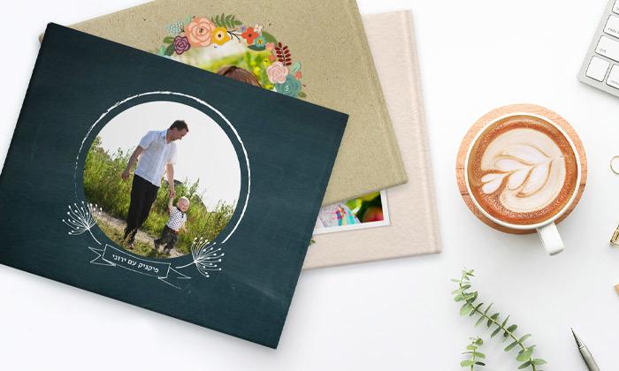 6 אלבום תמונות פרימיום A4 בעיצוב אישי באתר ZOOMA