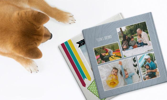 4 אלבום תמונות גדול בכריכה קשה של ZOOMA