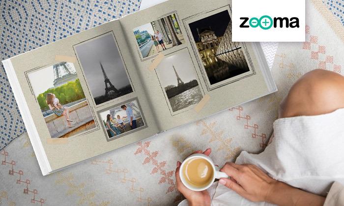 2 אלבום תמונות גדול בכריכה קשה של ZOOMA