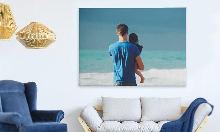 4 הדפסת תמונה בעיצוב אישי על קנבס באתר ZOOMA