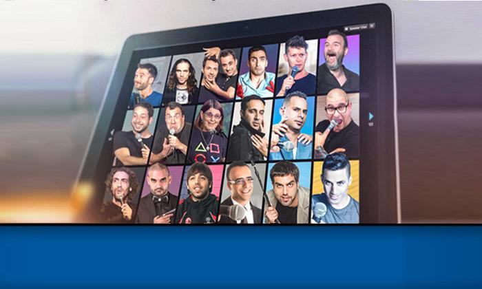 5 מופעי סטנדאפ LIVE של הקומדי בר דרך אפליקציית ZOOM