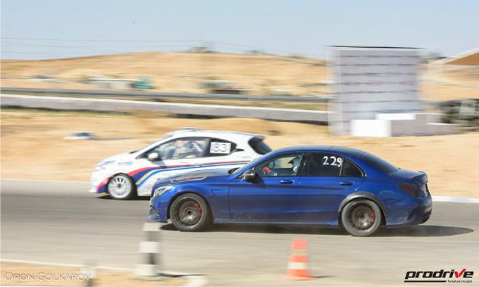 3 חווית נהיגה אתגרית עם פרודרייב PRODRIVE, לטרון