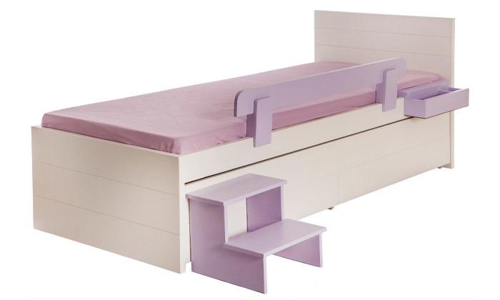 4 מיטת ילדים עם מגירת אחסון דגם מיתר, קוד קוד