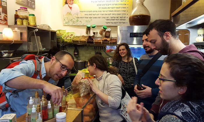 6 סיור טעימות בשוק מחנה יהודה ובנחלאות עם Israel 2GO