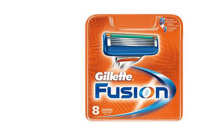 2 מארז 8 סכיני גילוחGillette Fusion 5 ג'ילט