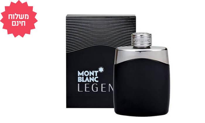 2 בושם לגבר Mont Blanc Legend, משלוח חינם
