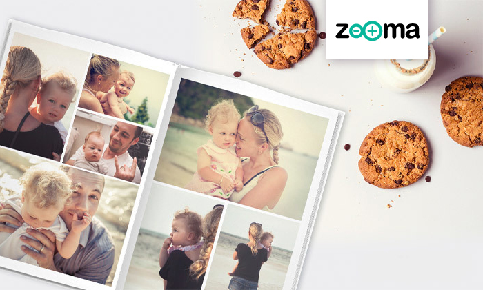 2 ל-72 שעות: אלבום תמונות קלאסי A4 בכריכה קשה של ZOOMA