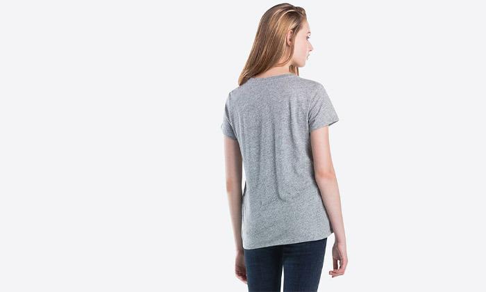 6 חולצות קצרות לנשים של ליוייס LEVIS עשויות 100% כותנה