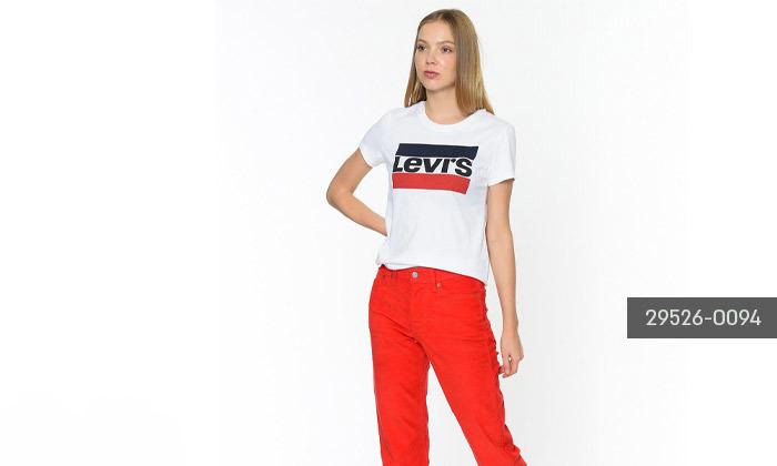 4 חולצות קצרות לנשים של ליוייס LEVIS עשויות 100% כותנה