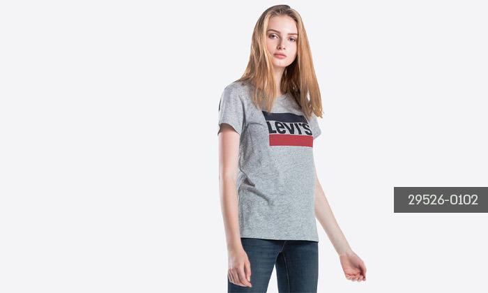 5 חולצות קצרות לנשים של ליוייס LEVIS עשויות 100% כותנה