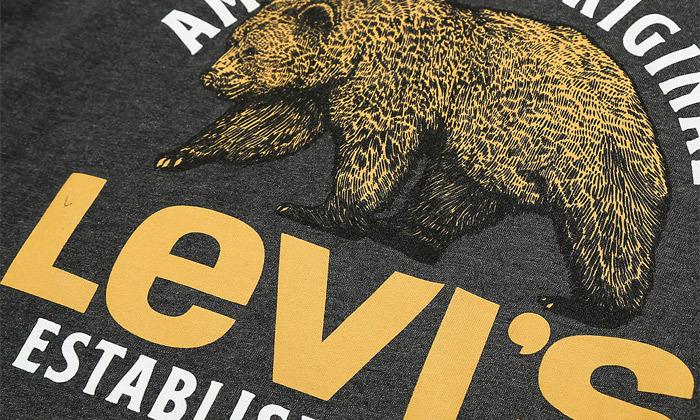 12 חולצות קצרות לגברים של ליוייס LEVIS עשויות 100% כותנה