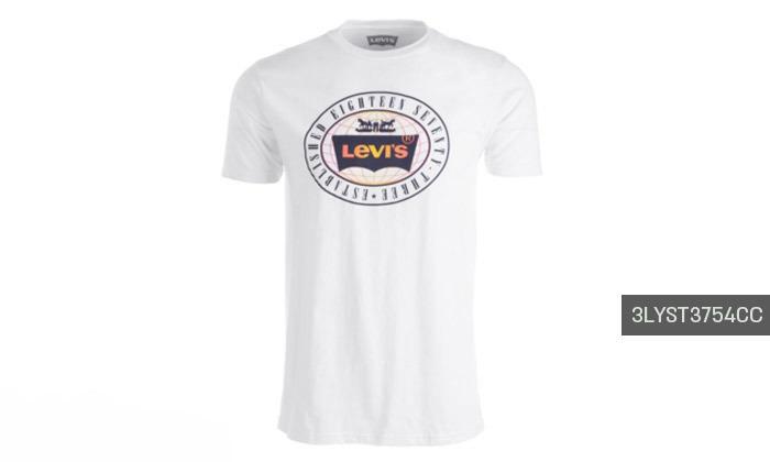 7 חולצות קצרות לגברים של ליוייס LEVIS עשויות 100% כותנה