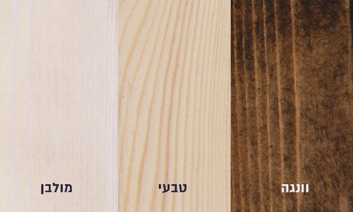 4 מיטה מעץ מלא הכוללת מזרן דגם 5013 של אולימפיה Olympia