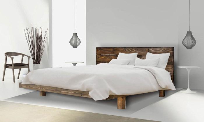 5 מיטה מעץ מלא הכוללת מזרן דגם 5013 של אולימפיה Olympia