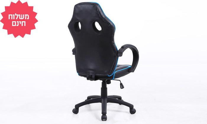 7 כיסא גיימרים על גלגלים, משלוח חינם