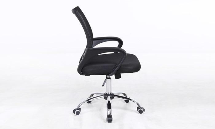 4 כיסא מנהלים על גלגלים