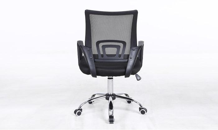 6 כיסא מנהלים על גלגלים