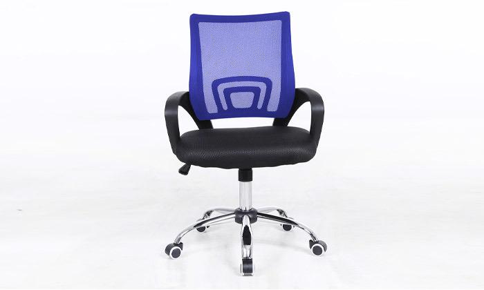 10 כיסא מנהלים על גלגלים