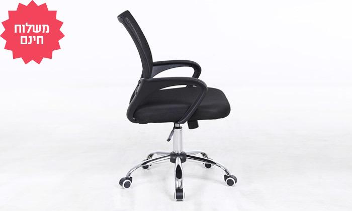 6 כיסא מנהלים על גלגלים, משלוח חינם
