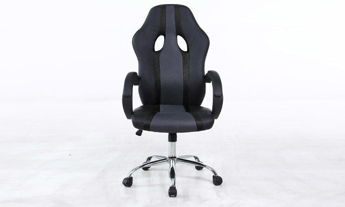 4 כיסא גיימרים על גלגלים