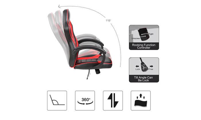 5 כיסא גיימרים NINJA Extrim