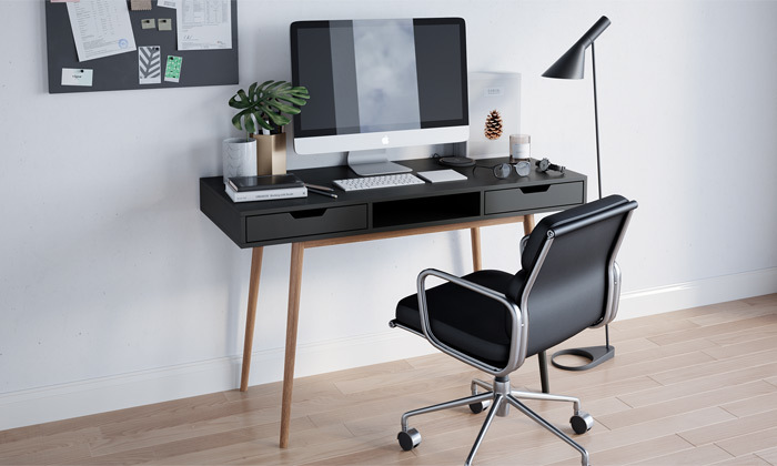 4 שולחן מחשב דגם ריימס