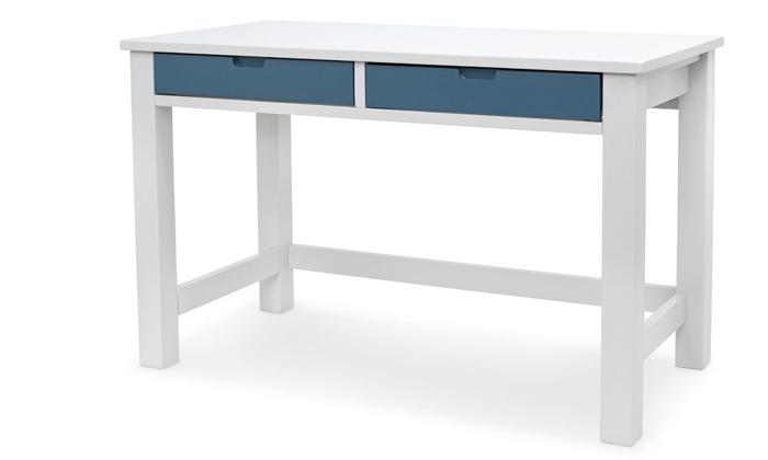 2 שולחן כתיבה מעץ מלא Highwood דגם עומרי