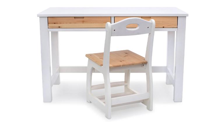 5 שולחן כתיבה מעץ מלא Highwood דגם עומרי