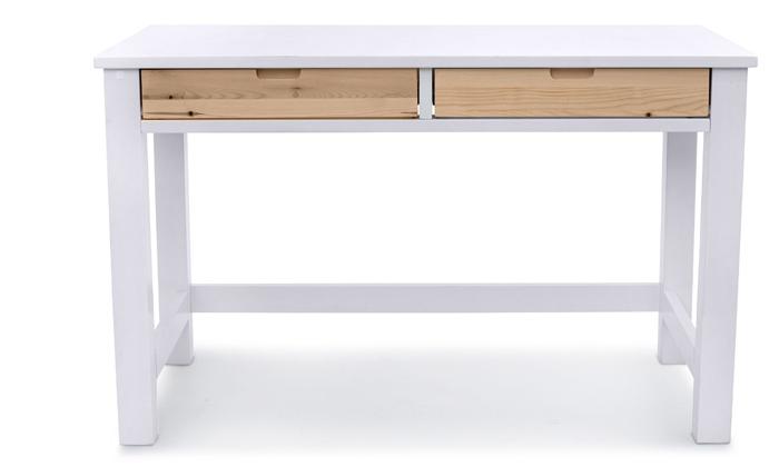 6 שולחן כתיבה מעץ מלא Highwood דגם עומרי