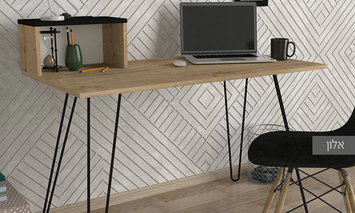 4 שולחן כתיבה הניצב על רגלי סיכה