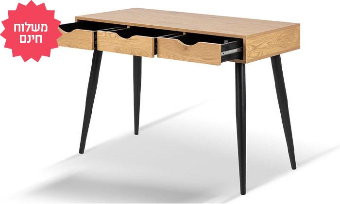 4 שולחן כתיבה וכיסא מרופד של שמרת הזורע, הובלה והרכבה חינם