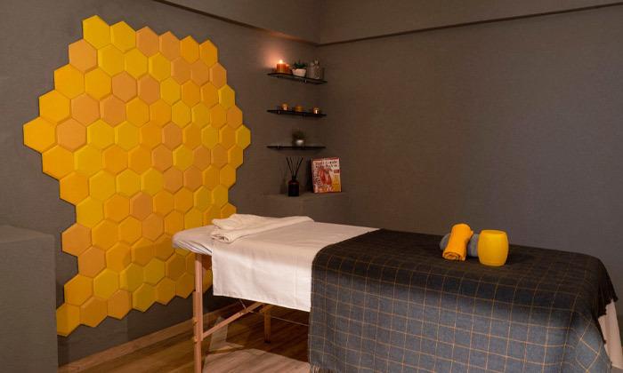 2 מבחר עיסויים מקצועיים בקליניקת Bee Therapy, תל אביב