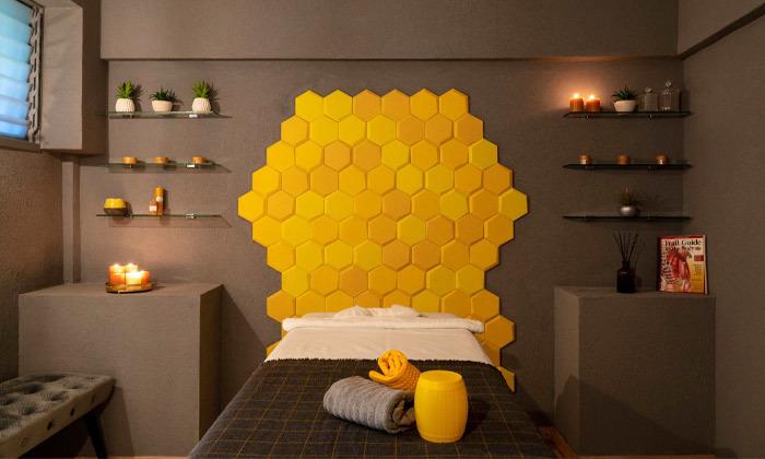 6 מבחר עיסויים מקצועיים בקליניקת Bee Therapy, תל אביב