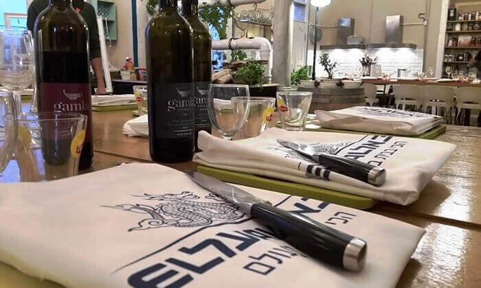 3 סדנת בישול פיוז'ן בשרים במבשלים חוויה - הבית של סדנאות הבישול, תל אביב