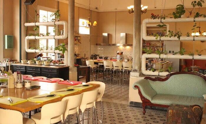 5 סדנת בישול פיוז'ן בשרים במבשלים חוויה - הבית של סדנאות הבישול, תל אביב