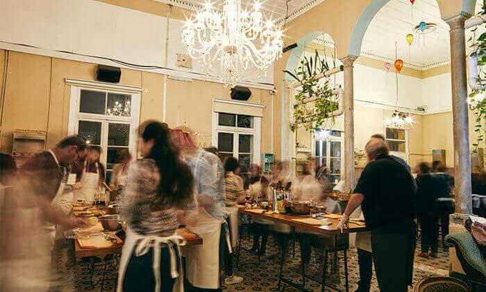 10 סדנת בישול פיוז'ן בשרים במבשלים חוויה - הבית של סדנאות הבישול, תל אביב