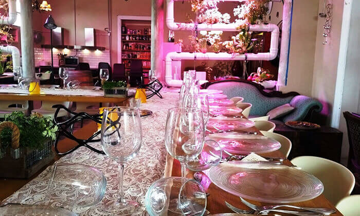 5 מגוון סדנאות בישול בשרים במבשלים חוויה - הבית של סדנאות הבישול, תל אביב