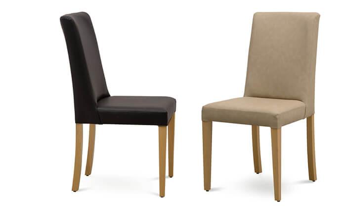 4 כיסאות לפינת אוכל דגם עדן של שמרת הזורע