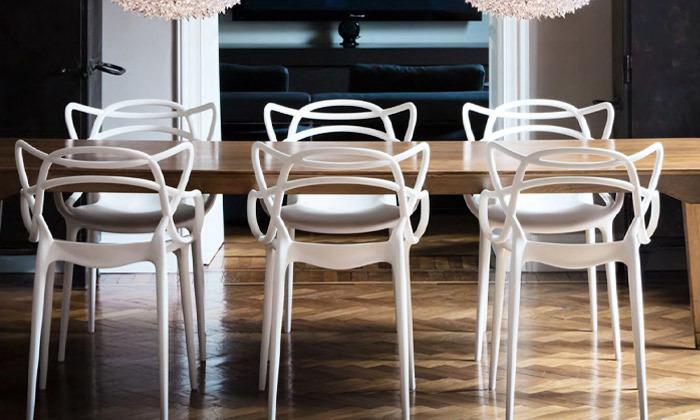 2 כיסא אוכל מעוצב