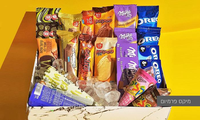 3 מארז גלידות - משלוח עד הבית למגוון ערים בין נתניה לאשדוד