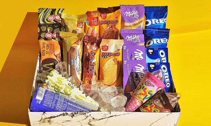 2 מארז גלידות - משלוח עד הבית למגוון ערים בין נתניה לאשדוד
