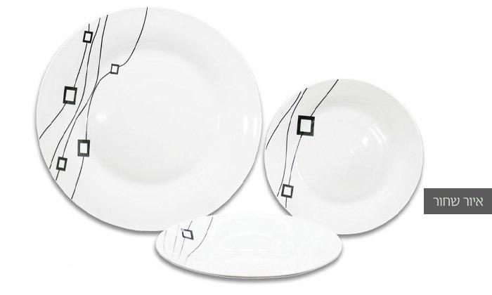 4 סט כלי אוכל 18 חלקים ל-6 סועדים