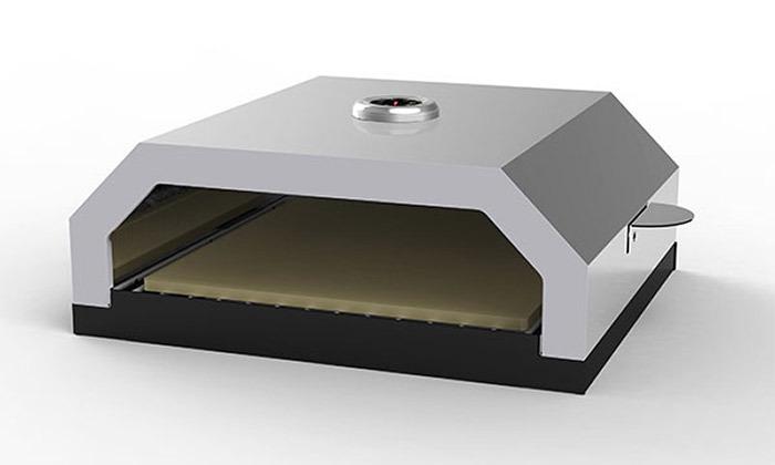 2 תנור פיצה בעל אבן שמוט ELKOL, דגםFORNO 430