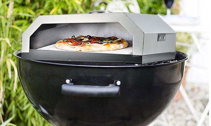 3 תנור פיצה בעל אבן שמוט ELKOL, דגםFORNO 430