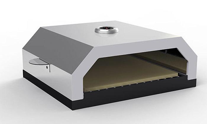 6 תנור פיצה בעל אבן שמוט ELKOL, דגםFORNO 430